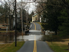 Sping Flooding in Southeast PA (road_less_trvled) Tags: water river flooding flood rainstorm streams roadclosed banks schuylkill overflowing schuylkillriver