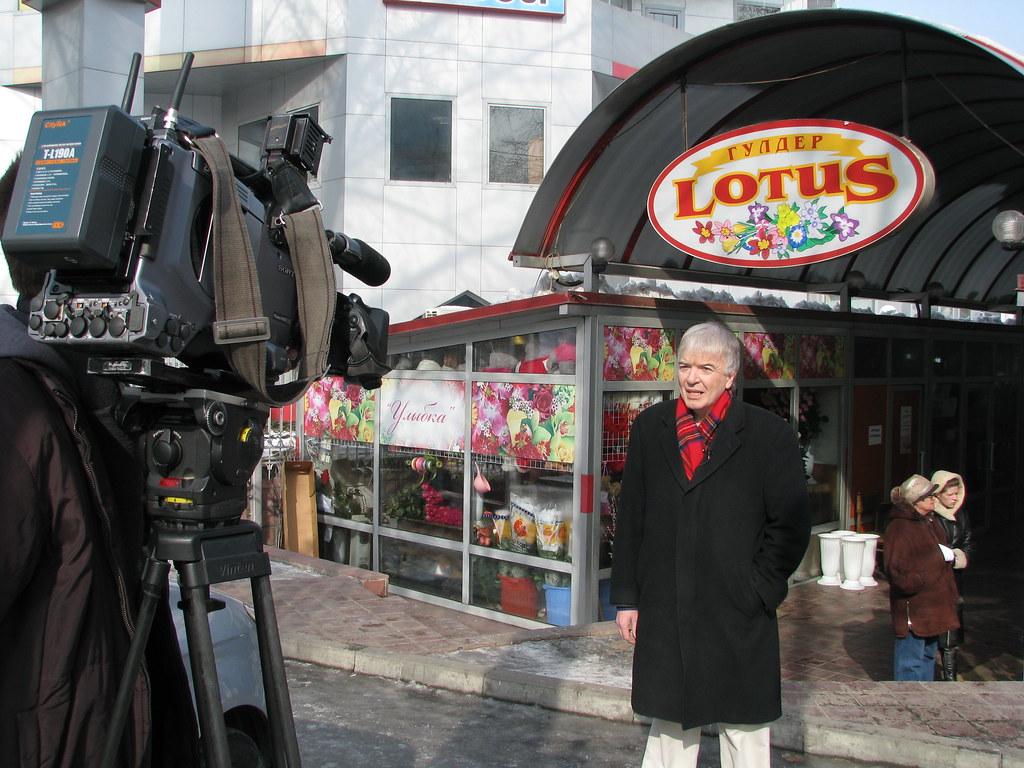 The Lotus Flower Market, Almaty