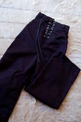 SALE (dev kimiko) Tags: black doll forsale pants bjd baggy crobidoll