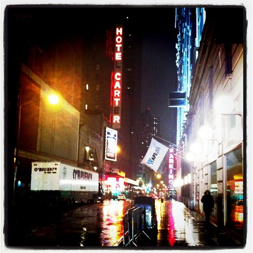 Rainy Night in NYC