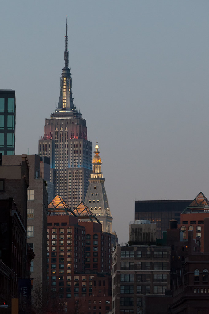 Empire State Building at Dusk