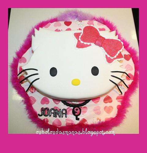 Bolo Charming  Kitty 2 by Osbolosdasmanas