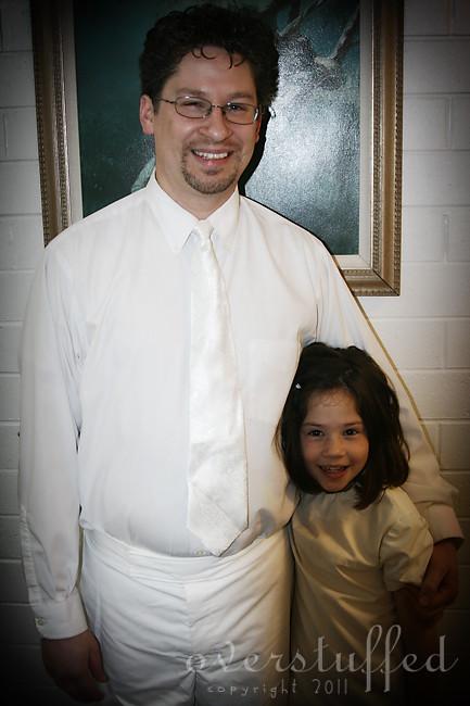 Chloe's baptism