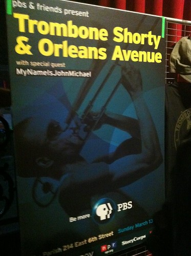 Trombone Shorty : One of the best bands coming out of New Orleans