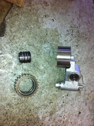 Subaru Timing belt Idler and Tensioner