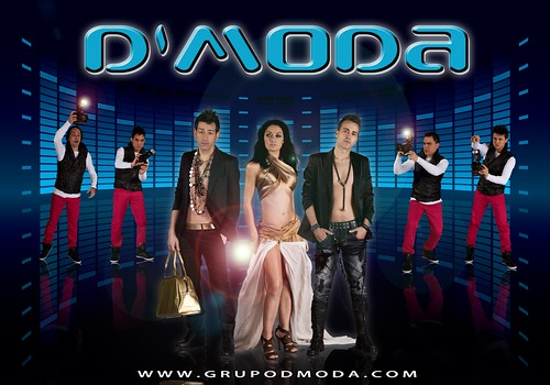 D'Moda 2011 - grupo - cartel