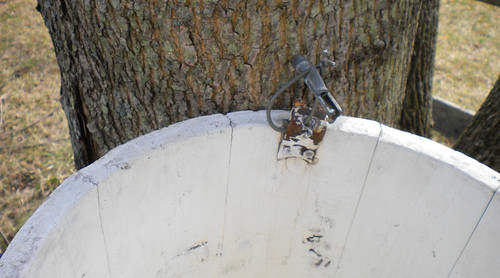 maple syrup boiling - tap