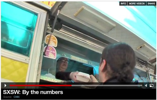 SXSW Food Truck in CNN Video
