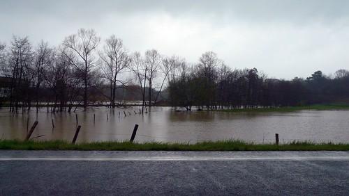 Gatika inundaciones rio Butrón