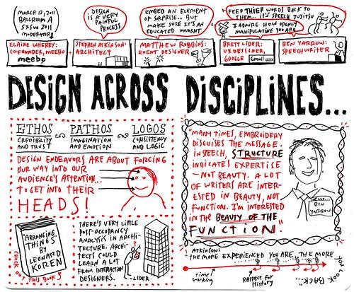 SXSW 2011 - Design Across Disciplines