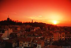 Plovdiv, my town (.:: Maya ::.) Tags: city sunset bulgaria plovdiv     mayaeye mayakarkalicheva  wwwmayaeyecom