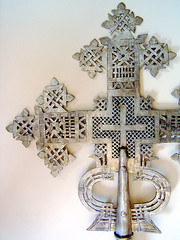Coptic Cross detail
