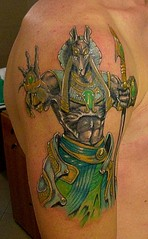 Fantasy Art Tattoo