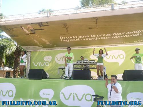 Bailando Techno con Viva