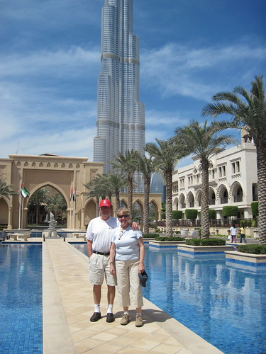 Mom and Dad in Dubai