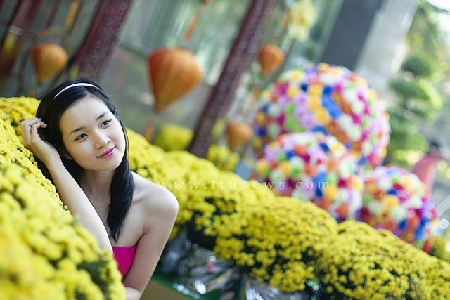 Thanh Loan - Hoa khôi Ngoại thương