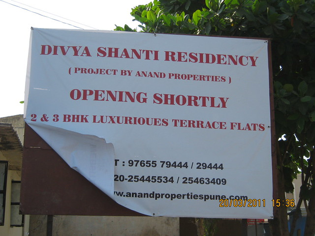 "Anand Properties' ""Divya Shanti Residency"" - 2 BHK & 3 BHK Flats at Sus Gaon! Launching Soon!!"