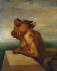 George Frederick Watts, Minotaure, 1885 (chauvin.chloe) Tags: art peinture watts mythologie contemporain minotaure
