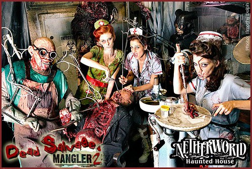 Mangler Girls NETHERWORLD Haunted House