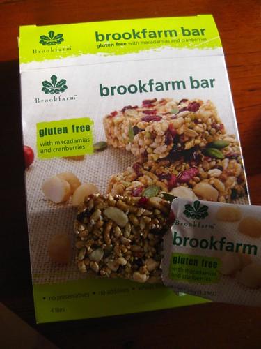 Brookfarm Gluten Free Muesli Bar