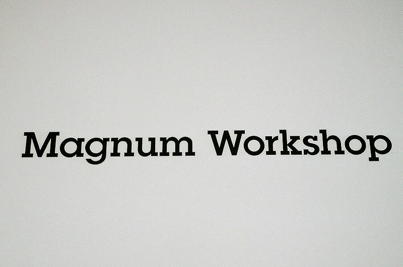 Magnum Workshop @ Format International Photography Festival (Derby, UK)