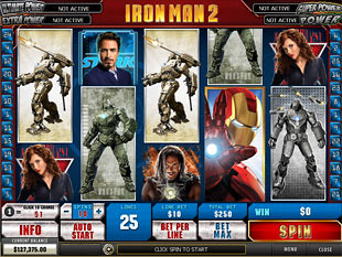 Iron Man 2 slot game online review
