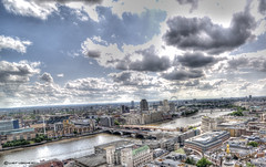 London view from St. Paul's Cathedral (Luis Fernando Useche) Tags: pictures lighting light color reflection building art texture glass colors beautiful lines architecture clouds composition digital buildings reflections dark photography lights design photo amazing cool arquitectura nikon colorful exposure pretty artist photographer view darkness dynamic angle photos background details perspective picture atmosphere structure best architectural professional adventure photograph processing stunning architektur pro framing portfolio lovely charming fabulous capture tones magical technique range hdr customs useche luisuseche luisfernandouseche