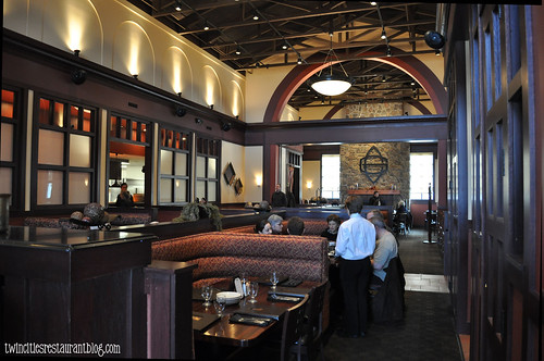 Dining Room at Chianti Grill ~ Roseville, MN