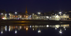 View of the WhiteSands at Night (Mike Docherty) Tags: white night river whitesands sands dumfries nith