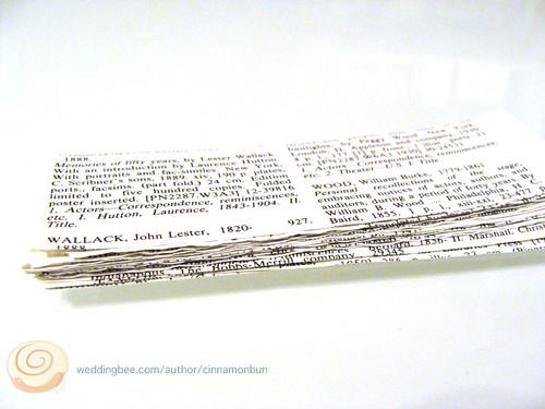 book paper pile