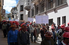 Protest March - Potosi, Bolivia