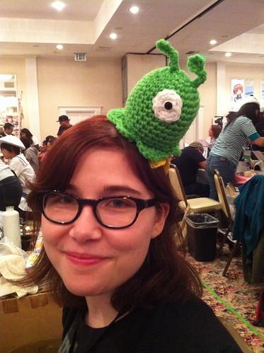 Brain Slug Headband