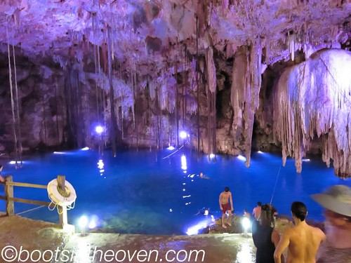 Inside Cenote Dzitnup