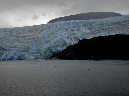 Glacier Pio XI from Navimag's Puerto Eden