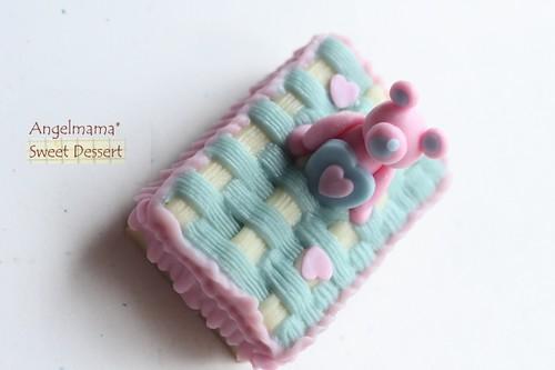 天使媽媽蛋糕模 061
