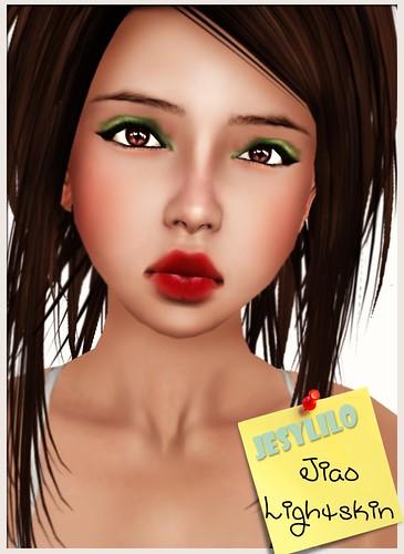 Jiao light skin show