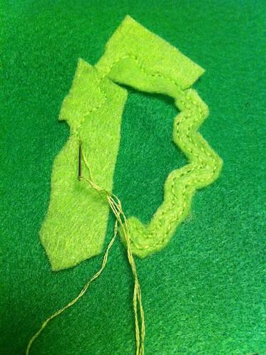 Stitching a germ