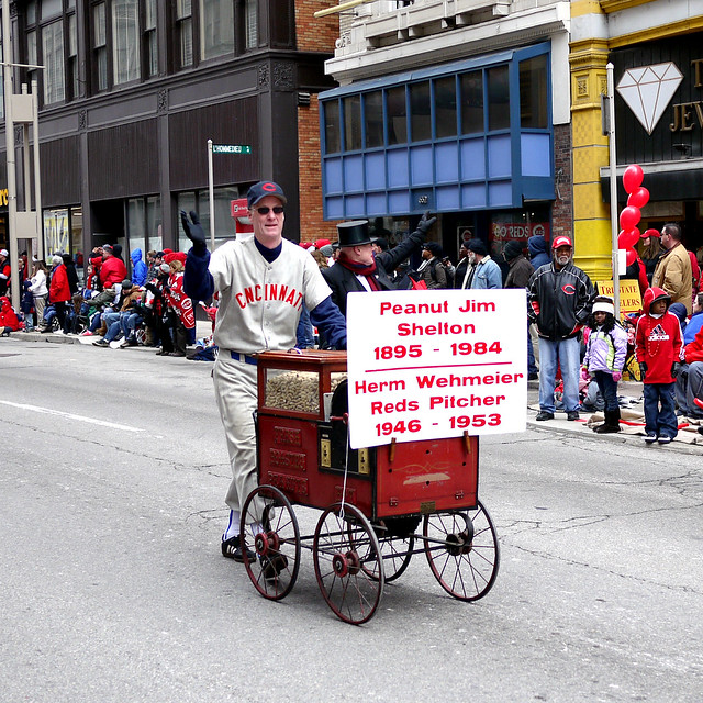 Reds Opening Day Parade 2011