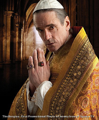 The Borgias Rodrigo Borgia Jeremy Irons