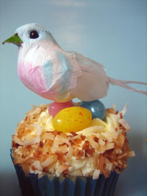 Vegan Easter Cupcakes