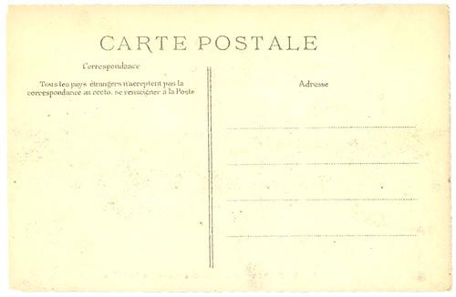 Champs-Elysées card back_tatteredandlost
