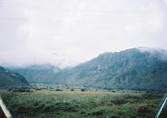 (Nikolay Kulivets) Tags: 35mm film olympusmjuii mjuii kodak georgia kazbek alpinism caucasus fog clouds ridge