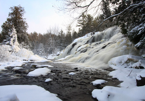 Winter Roars at Bond Falls
