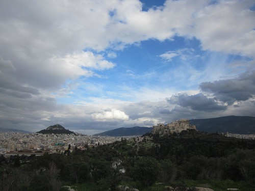 Acropolis and Mt. Lycabettus