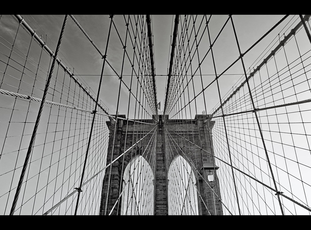 Symmetry - Brooklyn Bridge, NYC