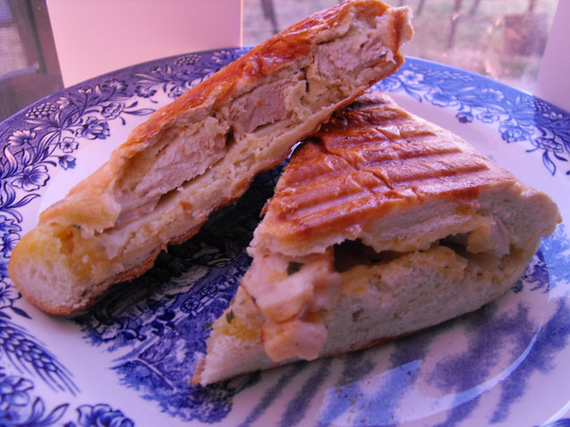 Garlic Chicken Panini