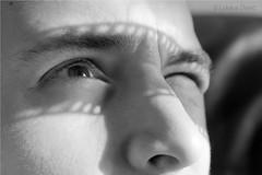 Silent Film (450Davide) Tags: camera light shadow portrait bw white black macro men slr eye art film face digital canon dark lens photography eos lights photo dc nice noir foto shadows artistic picture sigma negative marco mm dslr kp 1770 magyar et blanc hungarian fotzs dvid fekete fehr lukcs fot f2845 450d fnykp tkrreflexes 450dave