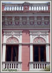 Palácio Cruz e Souza (silwittmann) Tags: pink two history sc brasil architecture doors florianópolis colonial balconies oldtown fachada casario portas histórico português paláciocruzesouza