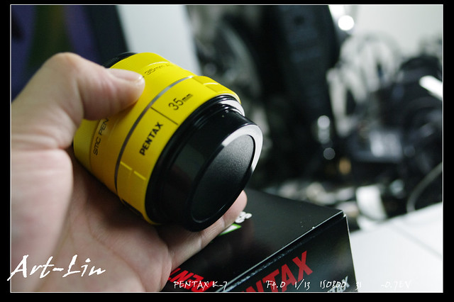DA35mm F2.4 AL Yellow版開箱與試拍