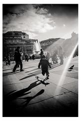 catch you (www.instagram.com/ahmed.habis/) Tags: street leica boy bird london film photography kid shiny day child streetphotography run m mp leicamp leicam
